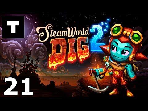 [RU] SteamWorld Dig 2 - 21 Digging deeper.  