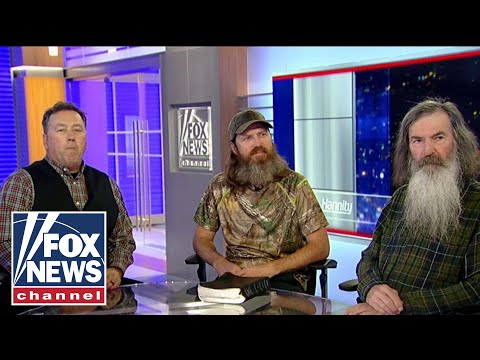 'Duck Dynasty' stars on dangers of the 'liberal left'