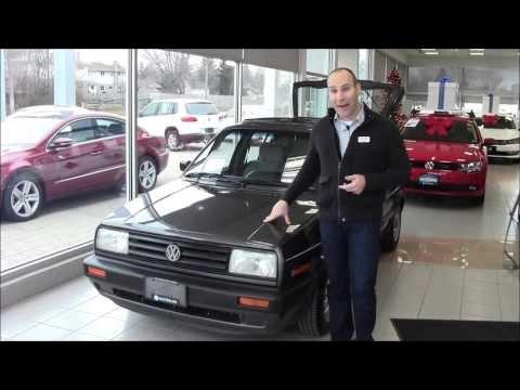 1992 VW Golf Giveaway at Volkswagen Waterloo