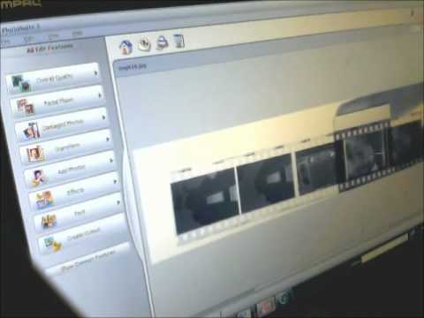 How to scan b w negatives with cheap flatbed scanner wmv
