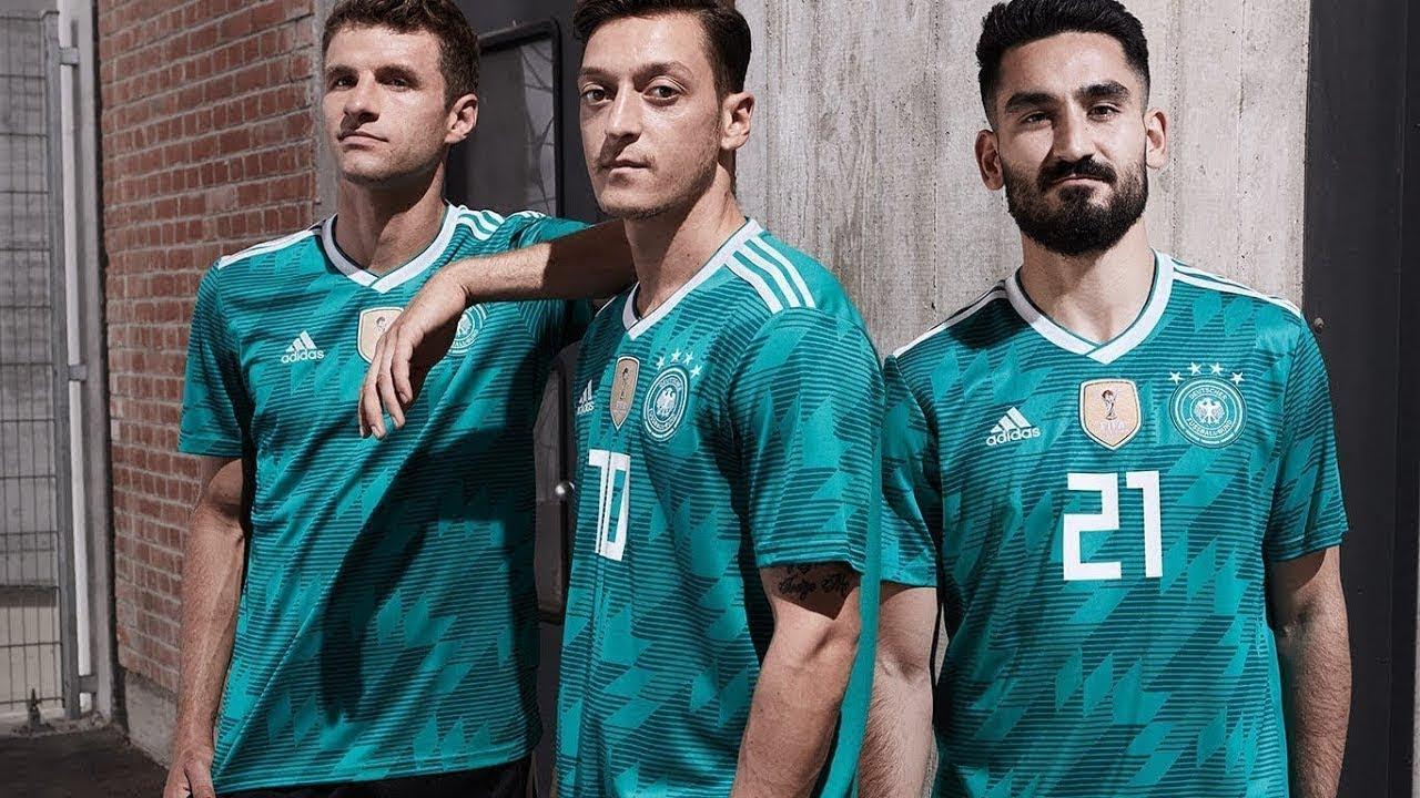 Introducing the Germany 2018 Adidas Away Kit. Football Shirt Culture acf95751b