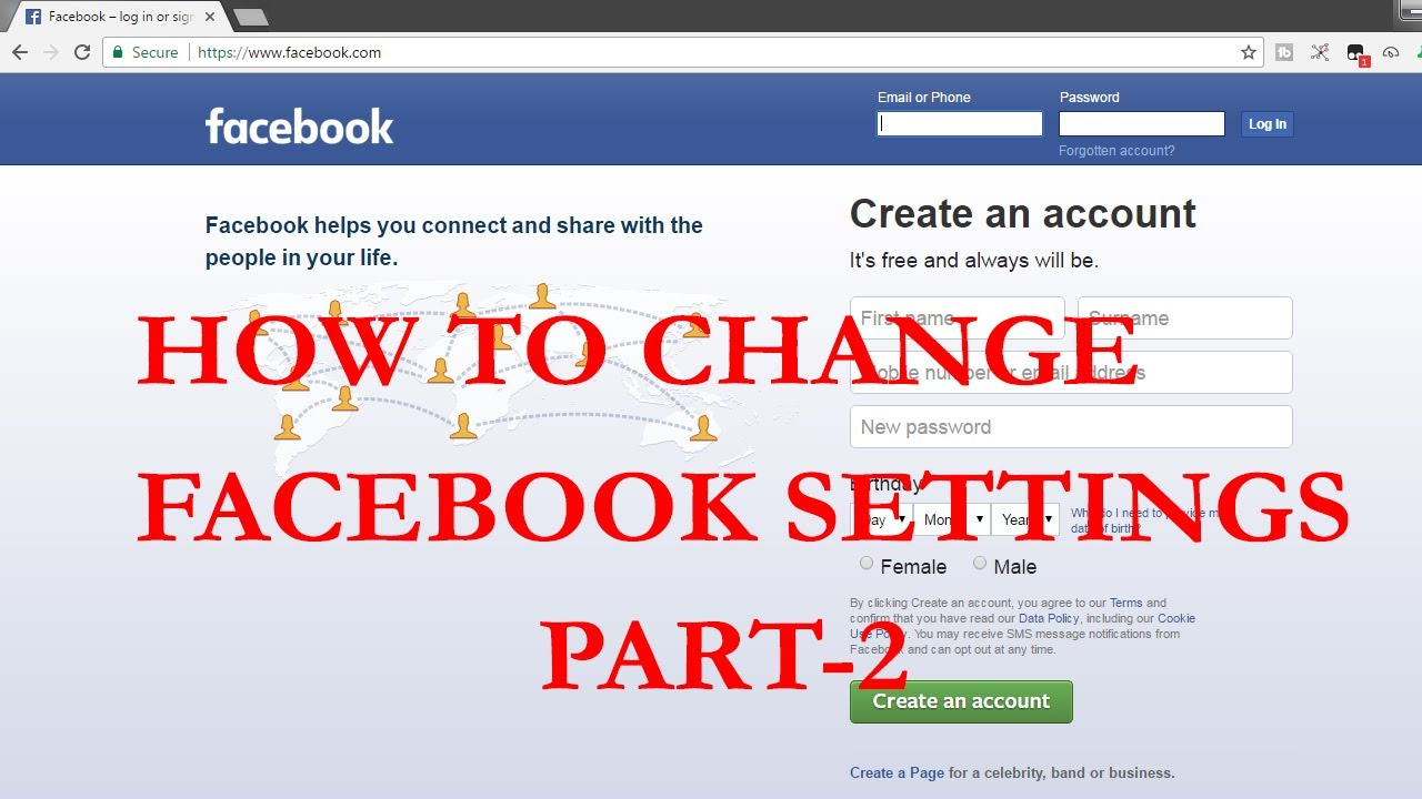 How to Change Facebook Settings in telugu | PART 2 | Timeline and Tagging Settings | Trick Tech