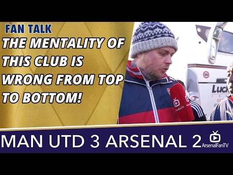 The Mentality Of This Club Is Wrong From Top To Bottom! | Man Utd 3 Arsenal 2