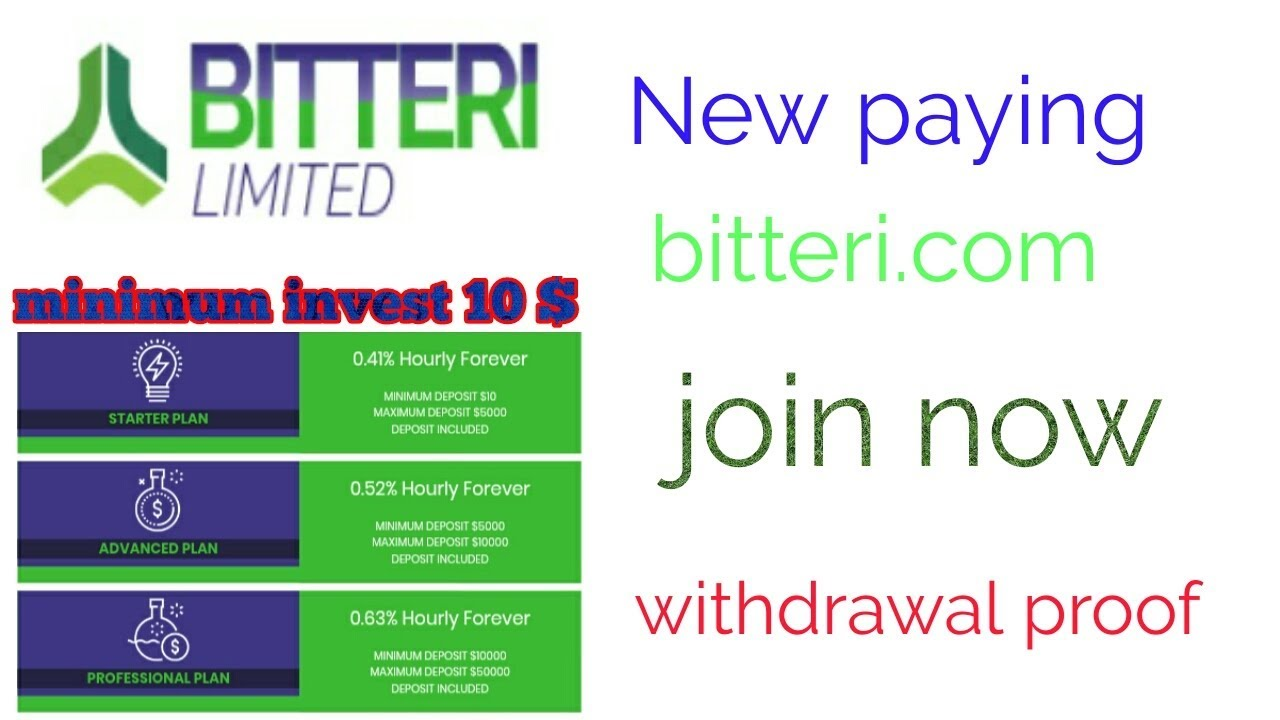 New Paying Site Minimum Invest 10 Withdrawal Proof Join Now