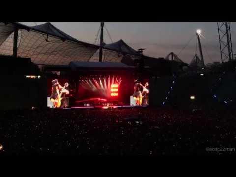 Guns N' Roses München 2017 Impressions - iPhone 7 Plus [4K]
