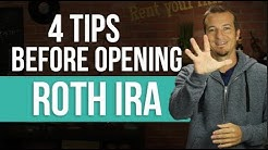 4 things you NEED to know before opening a Roth IRA