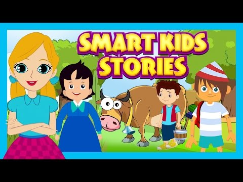 Smart Kids Stories - English Story Compilation For Kids || Animated Story Collection For Kids