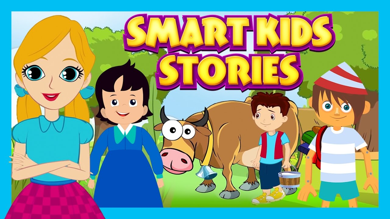 ef157d506c Smart Kids Stories - English Story Compilation For Kids