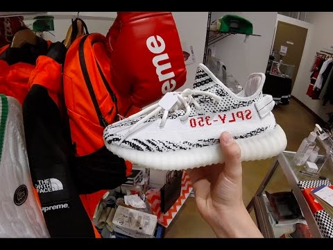 Hyped Clothes And Shoes In Sneaker Store