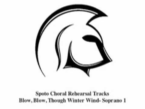 Blow Blow Thou Winterwind Soprano 1