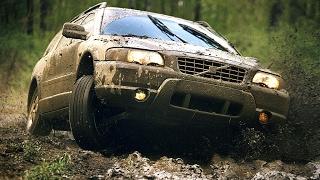 Volvo xc70, B5244T3, 2002 год,  обзор, тестдрайв, грязь