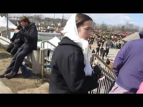 2018 Gordonville Mud Sale - Amish auction in Pennsylvania