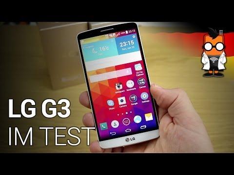 LG G3 Smartphone im Test [DEUTSCH]