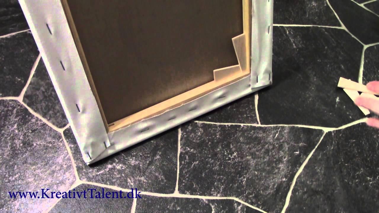 Splinternye Kom godt i gang - kiler i lærred canvas wedges - YouTube YL-15