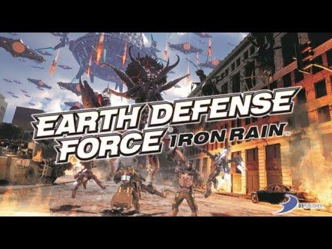 EARTH DEFENSE FORCE: IRON RAIN - Отбиваемся от колорадского жука