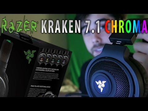 Razer Kraken 7.1 Chroma Headset - Review & Unboxing