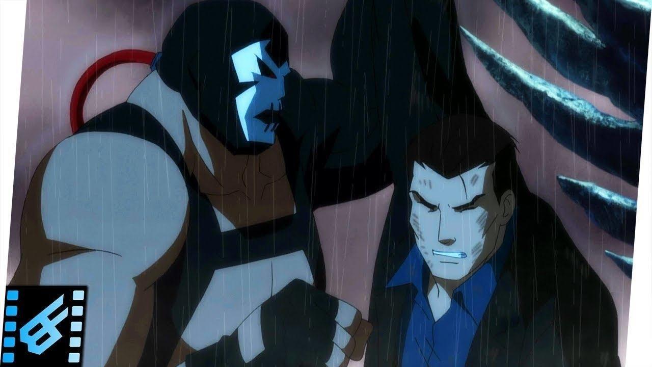 Download Bane Buries Bruce Wayne | Justice League Doom (2012) Movie Clip