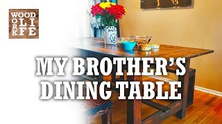 Baixar Building a Dining Table w/ Reclaimed Gymnasium Bleachers | Woodworking Builds