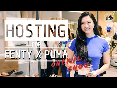 Cheryl Chou 周智慧 | Hosting for Fenty x Puma Launch | Basic Models