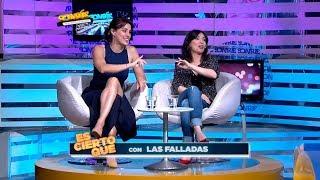 Adriana da Silva y Patricia Wolf de Las Falladas sonrieron con nosotros /2