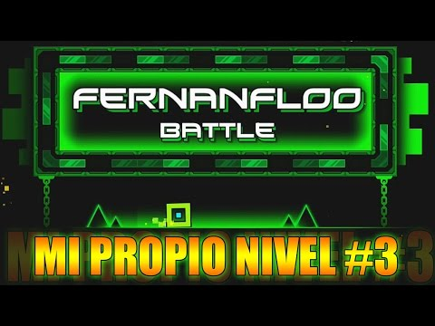 Thumbnail: MI PROPIO NIVEL EN GEOMETRY DASH #3 | Fernanfloo