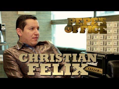 CHRISTIAN FELIX NOS ACLARA RUMORES DE MÁXIMO GRADO - Pepe's Office