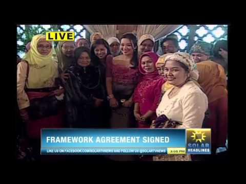Bangsamoro Framework Agreement is forged in Malacañan - Part 6/7