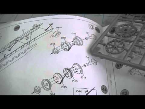 ep78 - miniart caterpillar d7 bulldozer part 2