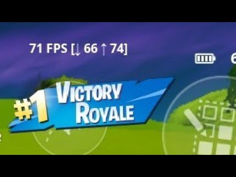 Fortnite Android 70-80fps Glitch
