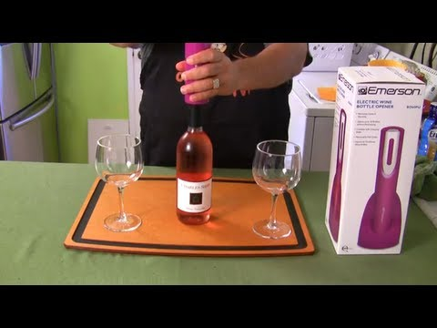 electric wine bottle opener product review youtube. Black Bedroom Furniture Sets. Home Design Ideas