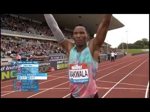 Ramil Guliyev Wins Men's 200m Birmingham Diamond League 2017