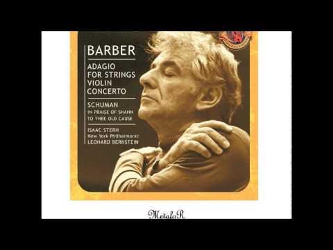 Leonard Bernstein (Samuel Barber) – Adagio for Strings, Op. 11: Molto Adagio