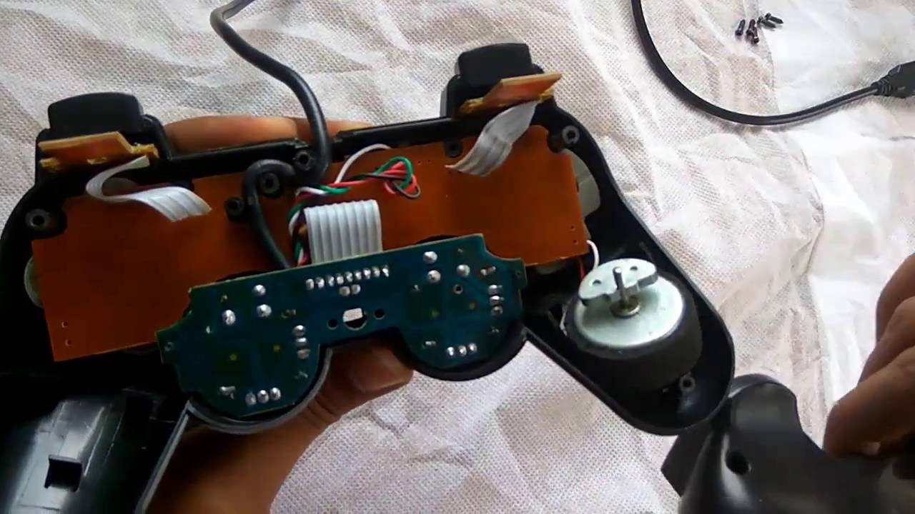 Ps2 Controller To Usb Wiring Diagram Of Inner Ear And Sinus How Repair Pc Gamepad Youtube Premium