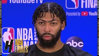 Anthony Davis Postgame Interview - Game 5 | Heat vs Lakers | October 9, 2020 NBA Finals