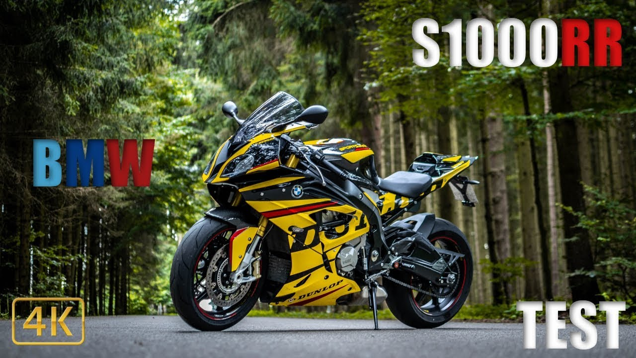 Bmw S1000rr Test 199ps Power Ohne Ende Youtube