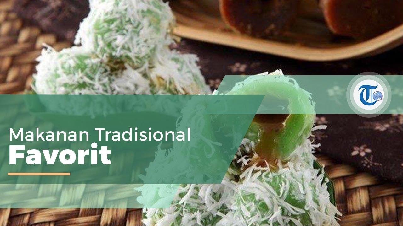 Klepon Makanan Ringan Tradisional Berjenis Camilan Youtube