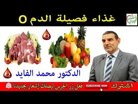 غذاء فصيلة الدم O مع الدكتور محمد الفايد Youtube