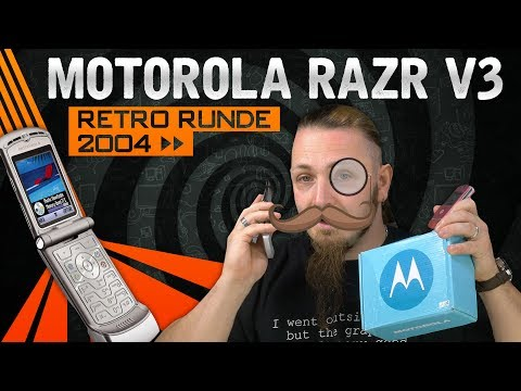 MOTOROLA RAZR V3 (2004) 📱 Retro-Runde Vol.3 [Technik, German, Deutsch]
