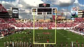 National Anthem - Raymond James Stadium November 11, 2012