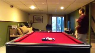 Playing One Pocket Pool