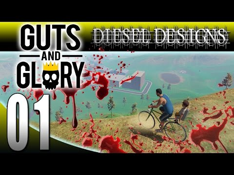 Guts and Glory : Happy Wheels in 3D!  Oh the Carnage! (Pre-Alpha Gameplay)