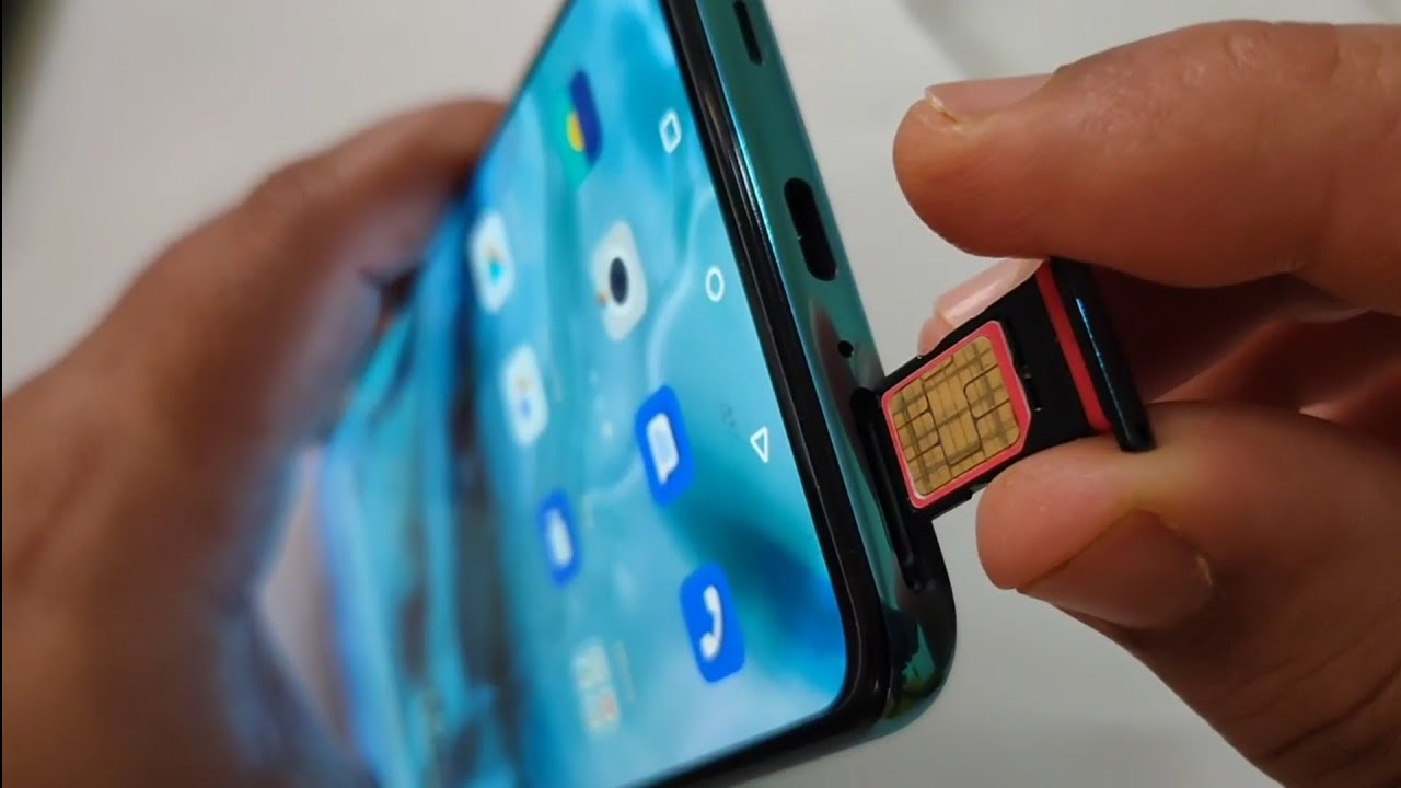 How to Insert SIM cards in OnePlus NORD - YouTube