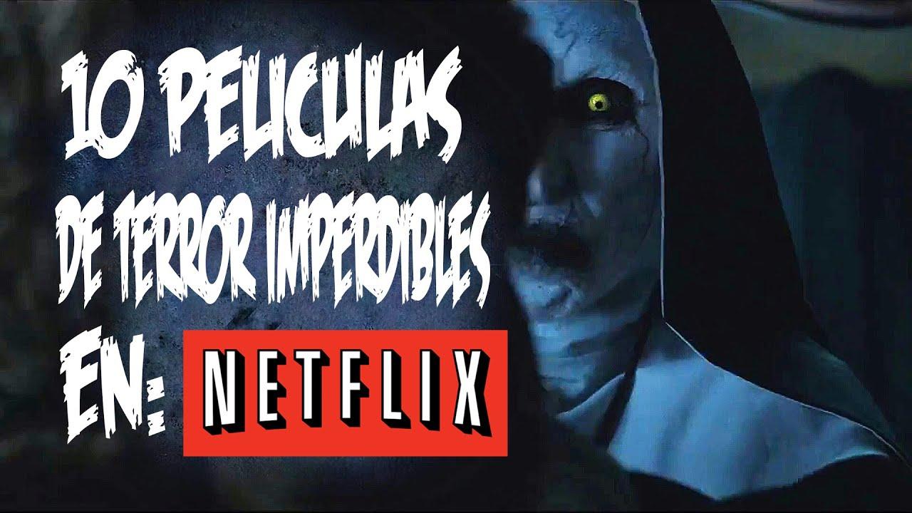 7 peliculas de terror en netflix