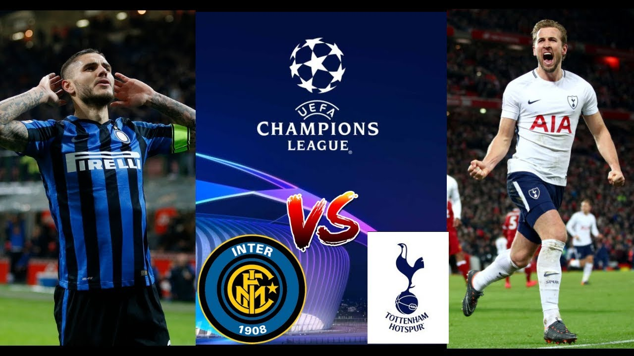 Image result for Inter milan vs Tottenham Hotspur UEFA Champions League 2018 Live