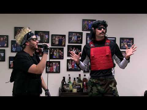 "Dr  Disrespect Demonstrates His 37"" Vertical Leap On the H3 Podcast"