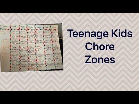 Teenage Chore Zones