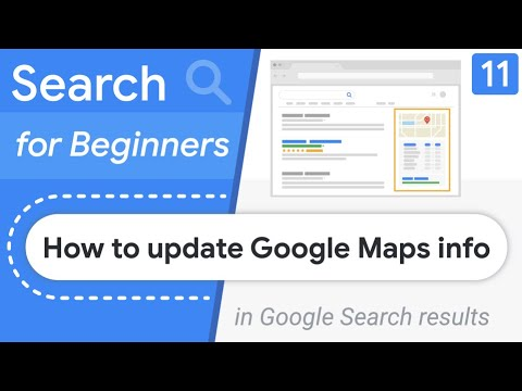 How to change my business address & information on Google?   Search for Beginners Ep 11