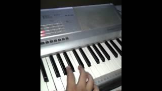 Mera dil tha akela (Baazigar) Keyboard Music