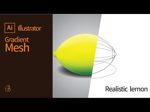 Illustrator Tutorial | How to use the Gradient Mesh Tool thumbnail