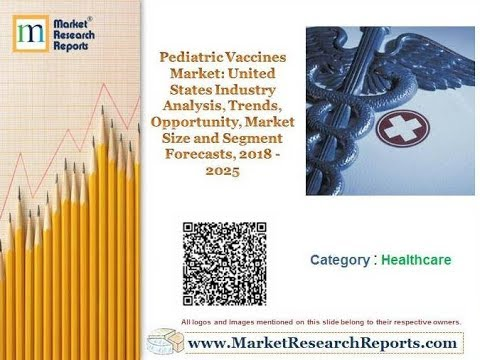 Pediatric Vaccines Market: United States Industry Analysis and Segment Forecasts, 2018 - 2025